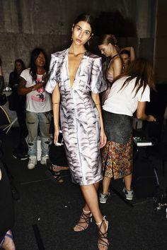 c9c697e978f Sonny Vandevelde - Bianca Spender SS14 15 Fashion Show Sydney Backstage