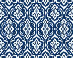 ikat wallpaper royal blue - Google Search