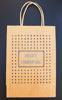 Hand-Drawn Gift Bag by AnnalogueHandmade on Etsy