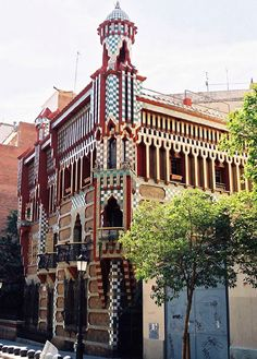 Barcelona Architecture Gaudi | Currently, Casa Vicens is for sale with an asking price of 30 million ...