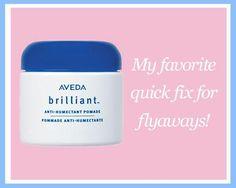 My secret weapon for fixing flyaways in the summertime on ElleandBlair.com!