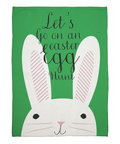 Funny Bunnies Tea Towel