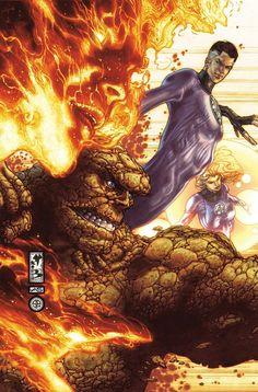 Fantastic Four by Simone Bianchi