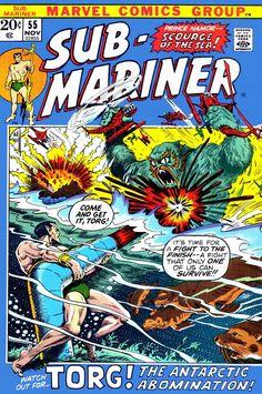 Sub-Mariner 55 - Bill Everett