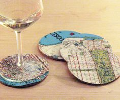 Handmade Coasters - international convention gift idea