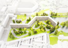 Kleiburg Proposal by NL Architects in Amsterdam, Netherlands