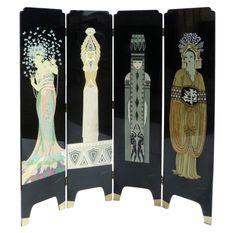 Art Deco - Decorative screen