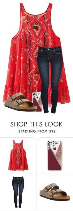 in love with everything about you by arieannahicks on Polyvore featuring Birkenstock, Kendra Scott and Casetify