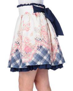 picture of LIZ LISA Floral Panel Skirt 5