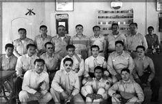 Tras el hundimiento de los barcos petroleros ,, Potrero del LLano y Faja de Oro ,, por los alemanes el Presidente Manuel Avila Camacho declaro el estado de guerra entre Mexico y los paises del eje en mayo de 1940 pilotos asignados a la plaza de Veracruz en 1942 al mando del Coronel Cruz Rivera