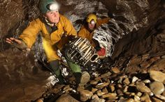 Underground cave system links Yorkshire, Lancashire and Cumbria Underground Caves, Cave Diving, Cumbria, Rain Wear, Extreme Sports, Outdoor Activities, Yorkshire, Potholing, Rains Clothing