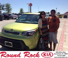 Congratulations to Nidhi Gupta on your #Kia #Soul purchase from Andi Wilson at Round Rock Kia! #RollingInStyle