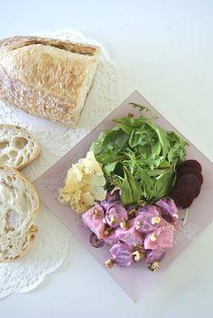 かわいいピンク色のサラダを作ろう!!「ビーツ入りポテトサラダ」/外国人の彼レシピ〜オーストラリア編〜   Pouch[ポーチ]