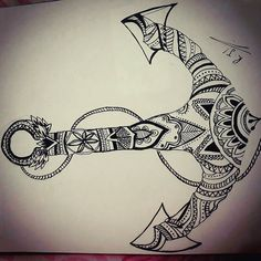 Image result for zentangle anchors