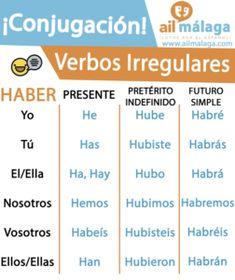 haber verbo irregular #learnspanish #spanish #spain