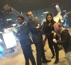 Haha team up for Heroes Reborn!