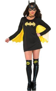 Batgirl Cape Dress - Batman - Party City
