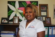 President of the Solomon Islands Women in Business Association, Julie Haro is working to increase women's leadership and economic empowerment in Solomon Islands. 'Women play such a large role in our community, but this is taken for granted and goes unrecognised,' she said.  'We need better representation and women in decision-making positions so they can influence and advocate for all women. It's a change that needs to be at all levels—in politics, business and across the community.'