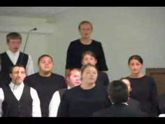 Sharon Mennonite Bible Institutes (smbi.org) choir of 4th term 2008 performing Days of Elijah at the Martindale Mennonite Fellowship Center in Ephrata, PA.