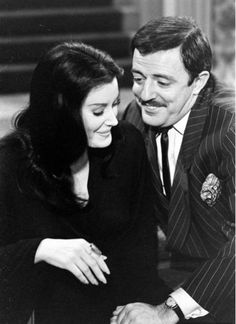 They're creepy and they're kooky: Audition photos for 'The Addams Family,' 1964 | Dangerous Minds The Addams Family 1964, Addams Family Tv Show, John Astin, Julie Newmar, Dangerous Minds, Disney Villains, Actors & Actresses, Creepy, Tv Shows