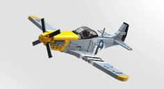 LEGO P-51 Mustang roars to victory | The Brothers Brick