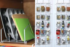 These 20 kitchen organization ideas will declutter every nook and cranny of your kitchen! Genius ideas, tips and DIY to organize your kitchen like a pro!