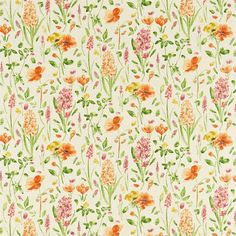 Sanderson - Traditional to contemporary, high quality designer fabrics and wallpapers | Products | British/UK Fabric and Wallpapers | Spring Flowers (DOPS222399) | Options 11 Prints