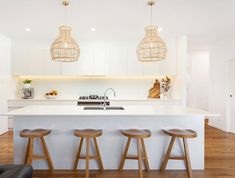 We take a look through Andy and Deb's real life Mid North Coast home Kitchen Reno, Home Decor Kitchen, Kitchen Interior, New Kitchen, Home Interior Design, Home Kitchens, Kitchen Dining, Kitchen Ideas, The Block Kitchen