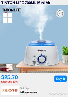 TINTON LIFE 700ML Mini Air Humidifier Healthy Life Quiet Aroma Diffuser Air Humidifier Mist Maker * Pub Date: 13:25 Oct 20 2017