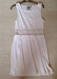Buy here at #vinteduk http://www.vinted.co.uk/womens-clothing/casual-dresses/4406991-white-skater-dress