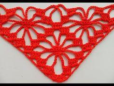 Узор для шали крючком.Исправленный!/pattern for shawls - YouTube