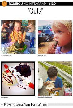 """Bombou no Instagram #130 - """"Gula"""" - http://epoca.globo.com/colunas-e-blogs/bombou-na-web/noticia/2015/04/melhores-fotos-de-gula-no-bombou-no-instagram.html"""