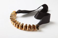 Necklace by Noritamy Jewelry Box, Jewelery, Jewelry Accessories, Jewelry Design, Designer Jewelry, Paper Chains, Metal Working, Cuff Bracelets, Fashion Jewelry