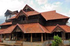 Padmanabhapuram Palace is located in at Padmanabhapuram Fort, in Padmanabhapuram, Kanyakumari District, Tamil Nadu, India. Kerala Architecture, Vernacular Architecture, Religious Architecture, Colonial Architecture, House Architecture, Kerala Traditional House, Traditional House Plans, Traditional Homes, Home Room Design
