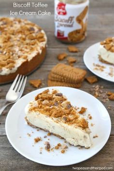Biscoff Toffee Ice Cream Cake Recipe from Two Peas and Their Pod >> #WorldMarket Dreaming of Desserts