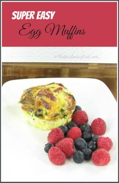 Super Easy Egg Muffins - a great alternative to fast food Best Healthy Diet, Healthy Food Habits, Heart Healthy Recipes, Paleo Diet, Breakfast Tea, Breakfast On The Go, Local Fast Food, Lemonade Diet, Quick Weight Loss Diet