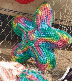 Free Crochet Starfish Pattern