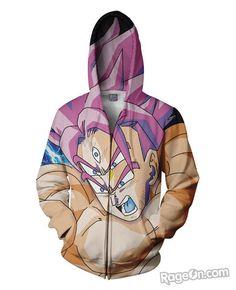 Lord Goku Zip-Up Hoodie