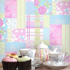 Wallpaper - Patchwork Pollyanna - Free Post