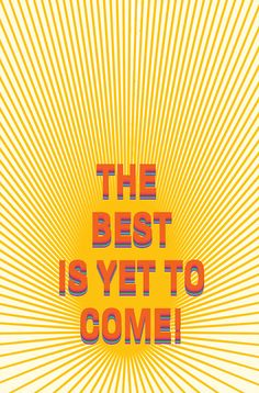 Happy Rithm/ THE BEST IS YET TO COME