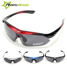 RockBros Polarized Cycling Bike Bicycle Sunglasses Glasses Goggles