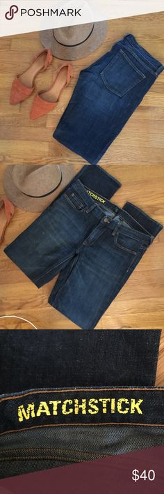 J. Crew matchstick stretch jeans 31 J. Crew matchstick stretch jeans size 31. Worn once. Excellent condition! Listing is for the jeans only. Check out my closet for more jeans I'm selling. Open to offers and bundled items save even more. Cheers 🙂 J. Crew Jeans Skinny