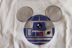 Mickey Mouse Star Wars T-shirt Tutorial - seven thirty three