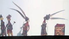 Traditional Chinese Shadow Puppet Performance, Bazhong, China
