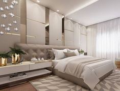 8 Cheap Things to Maximize a Small Bedroom. Modern Luxury Bedroom, Luxury Bedroom Design, Luxurious Bedrooms, Luxury Interior, Master Bedroom Interior, Bedroom Closet Design, Home Bedroom, Bedroom Decor, Colorful Interior Design
