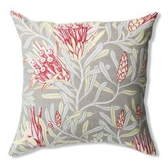 Mountain Devil Garnet Pure Linen Cushion Cover 60x60