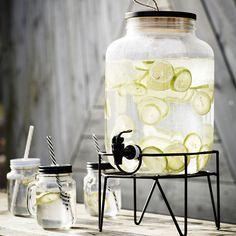 Maisoncitron.com / Distributeur de boissons sur socle Madam Stoltz 8 L