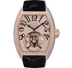 The Franck Muller Giga Tourbillon in pink gold is today's Haute Time Watch of the Day, marking the 2012 WPHH Watch Exhibit taking place in Monaco. This ama Fine Watches, Watches For Men, Men's Watches, Patek Philippe Aquanaut, Tourbillon Watch, Luxury Watch Brands, Mullets, Beautiful Watches, Luxury Watches
