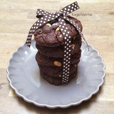 Cookies med karamel og peanuts - Cookies with caramel and peanuts