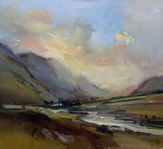 David Atkins, Evening Sky from mcallistertom.fineart.uk